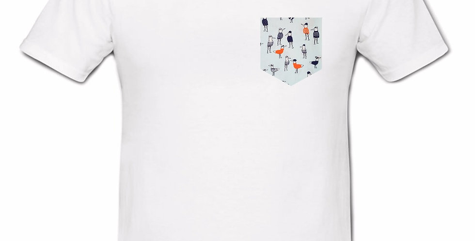 Camiseta Gaviotas con Jersey