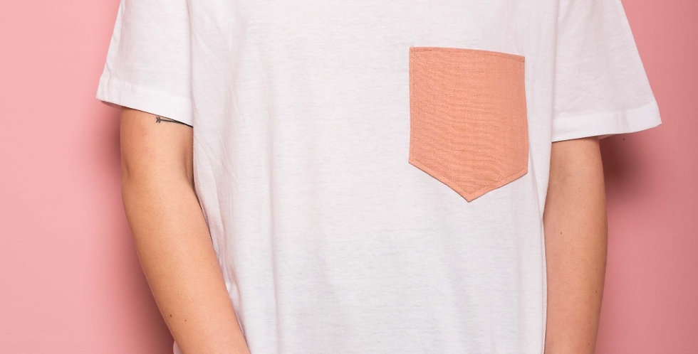 Camiseta Rosa Pastel