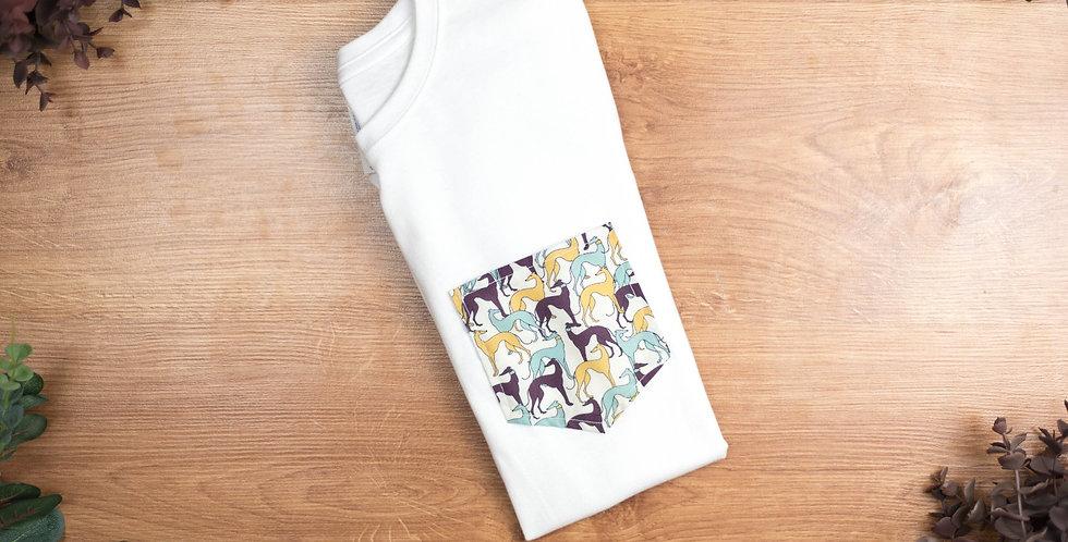 Camiseta Galgos Turquesa