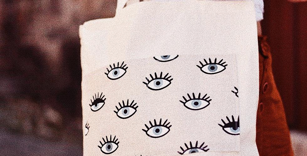 Tote Bolsillo Ojos