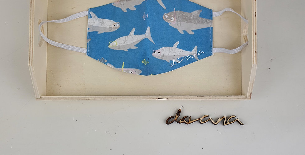 Mascarilla  tiburón