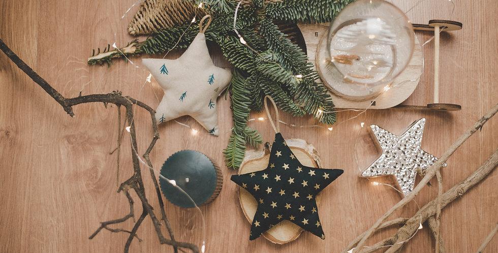 Estrellas con Estrellas Doradas