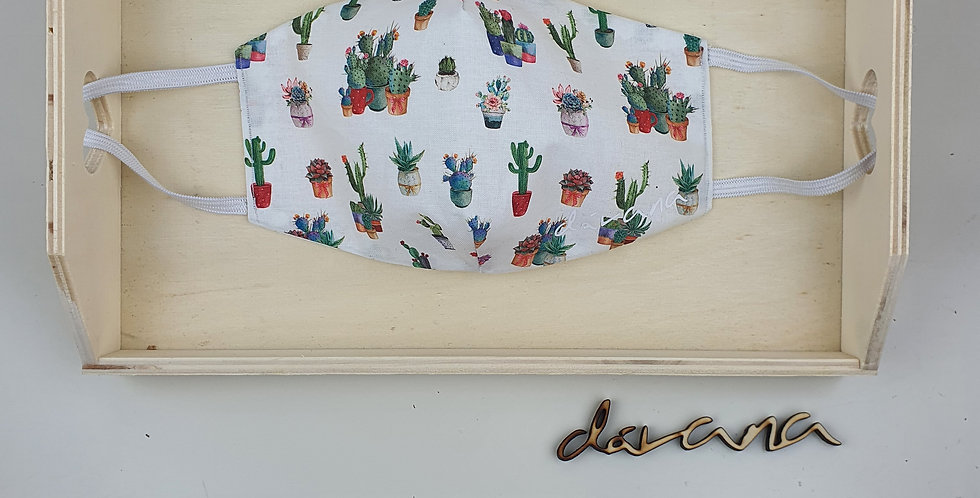 Mascarilla cactus 🌵