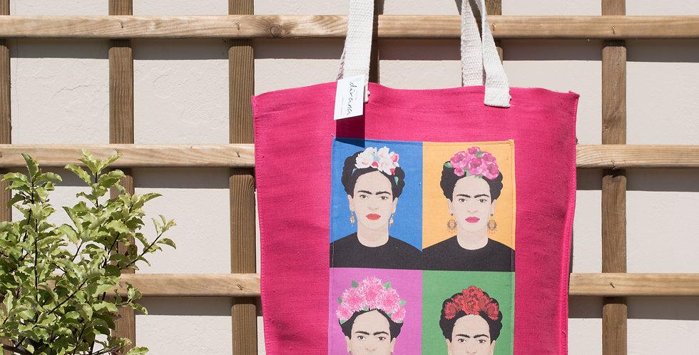 Tote Juco Rosa Frida