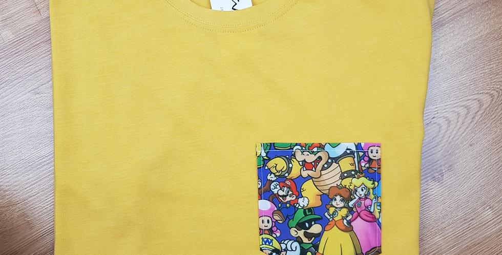 Camiseta mostaza Mario