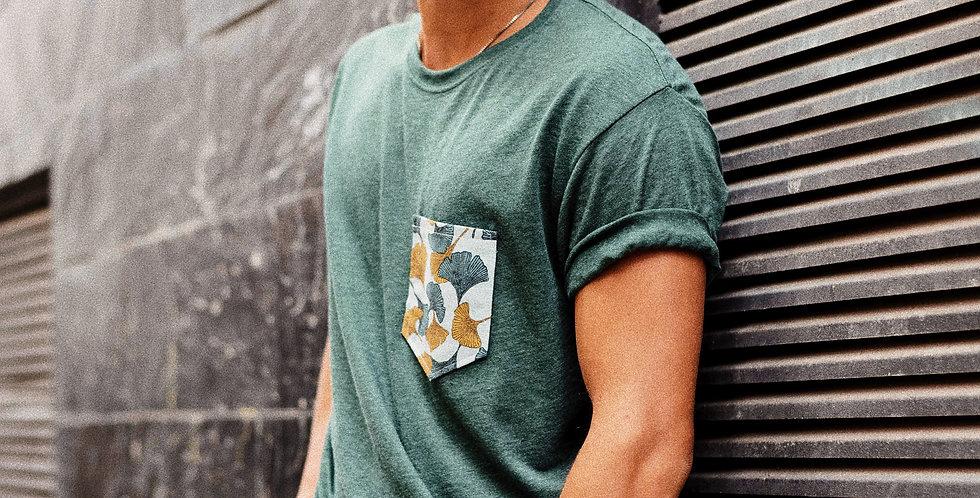 Camiseta Verde Gynkos