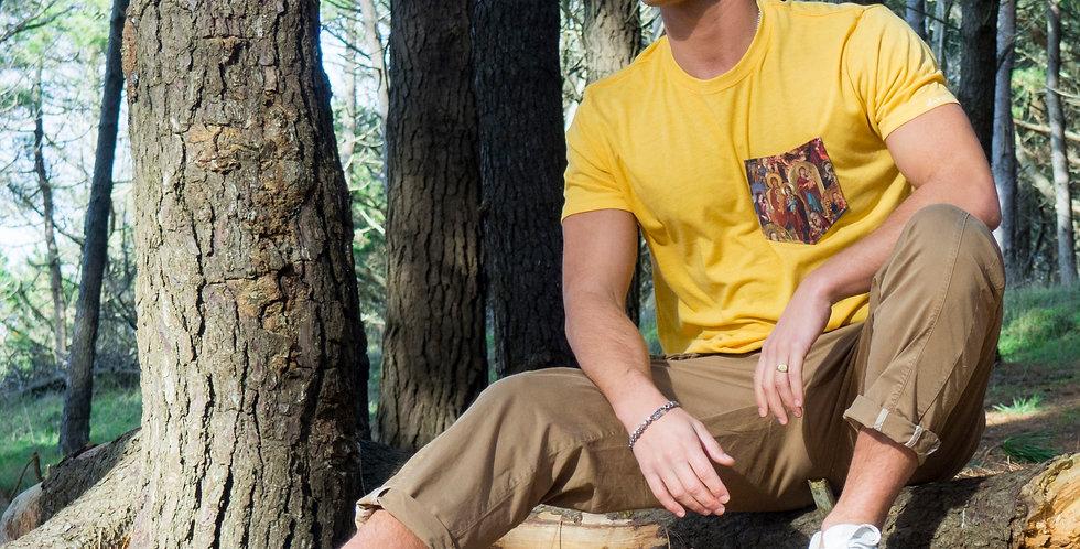 Camiseta  mostaza Virgencitas