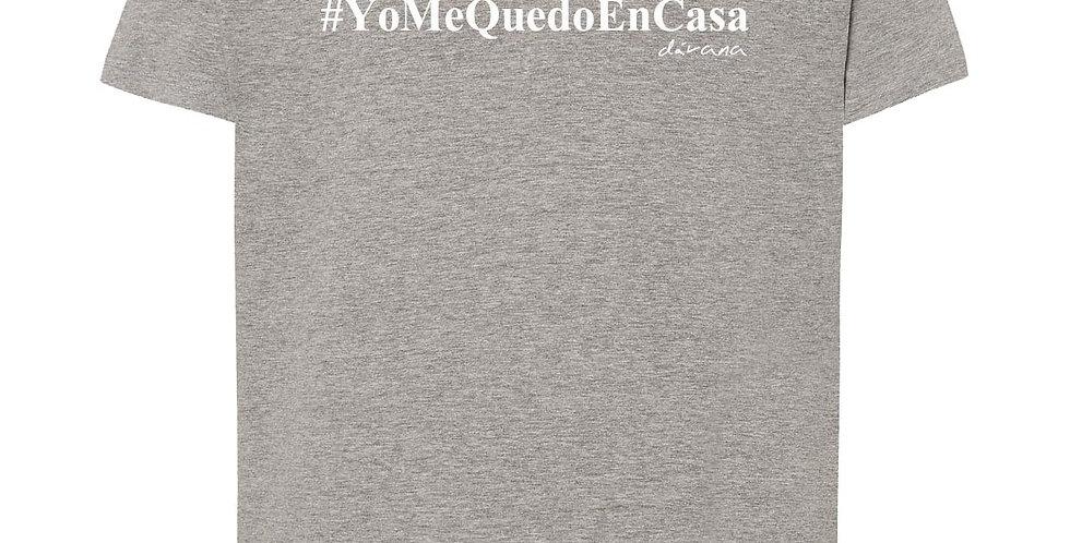 Camiseta #YoMeQuedoEnCasa