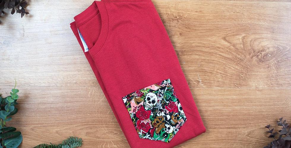 Camiseta Roja Carnaval