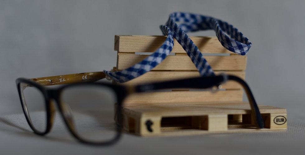 Cuelga Gafas Vichy Azul