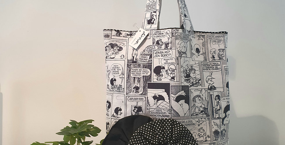 Tote cómic Mafalda