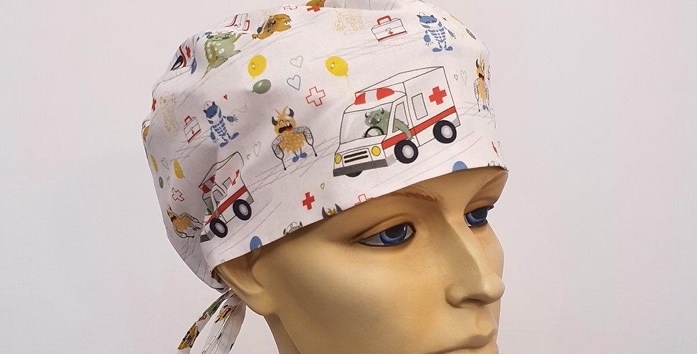 Gorro Sanitario Ambulancia