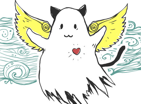 LESSONS FROM THREE GHOST CATS