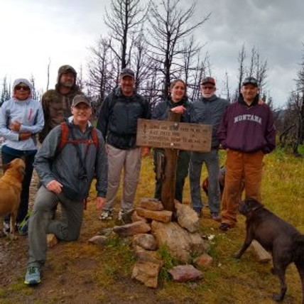 Lewis and Clark Pass hike and presentation