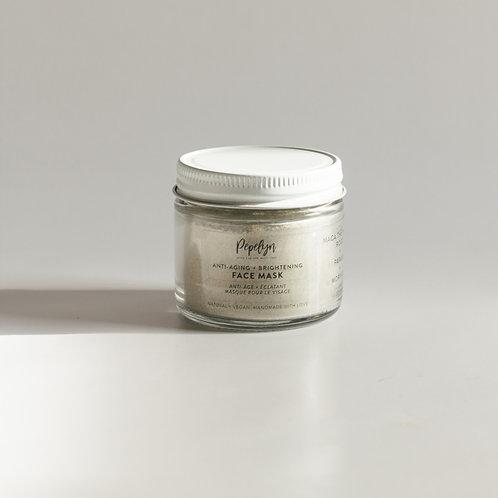 Anti-aging Brightening Face Mask w/ Maca The Incan Root  + Papaya & Moringa