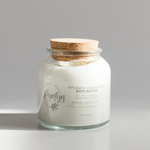 Moringa + Mango & Shea, Antiaging Moisturizing Body Butter