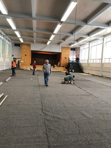 L'installation commence