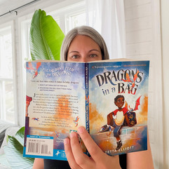 """A Book Review on """"Dragons in a Bag"""" by Zetta Elliott"""