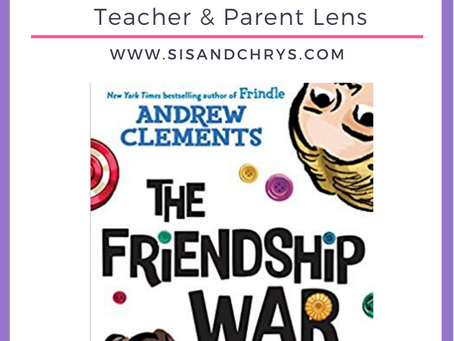 "A Book Review on ""The Friendship War"" by Andrew Clements"