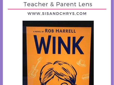 "A Book Review on ""Wink"" by Rob Harrell"