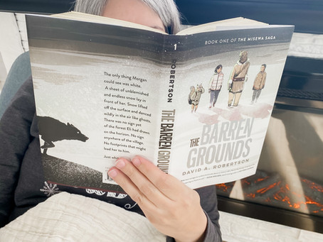 """A Book Review on """"The Barren Grounds"""" by David A. Robertson"""