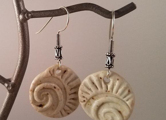 Seashore Ceramic Earrings