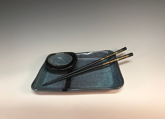 Sushi/Appetizer Plate Set