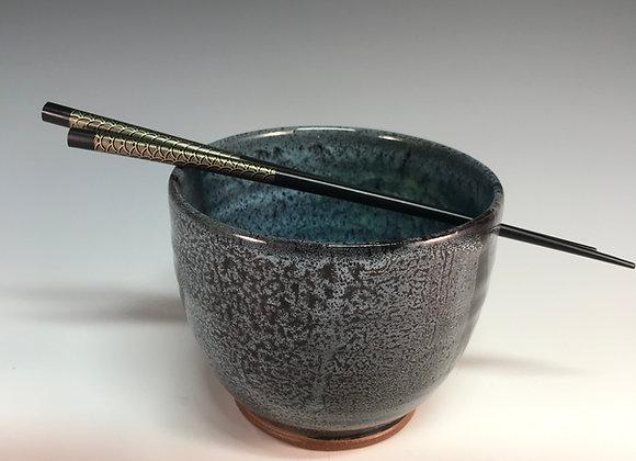Noodle/Rice Bowl - Black Stripe Collection