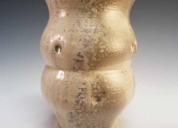 Carbon Trapped Vase
