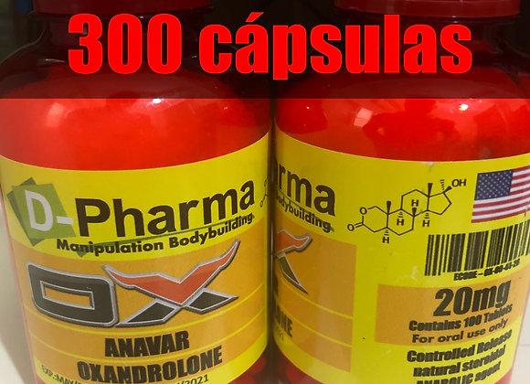 Oxandrolone - 300caps - 20mg/caps