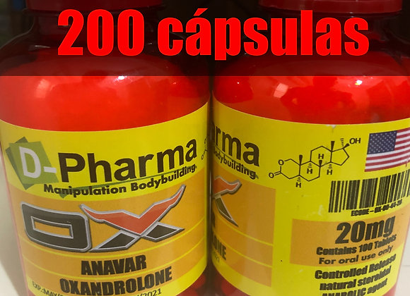 Oxandrolone - 200caps - 20mg/caps