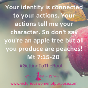 Your Identity Is Connected To Your Actions; It Only Takes One Moment