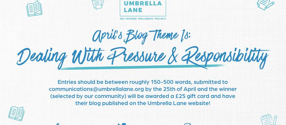 April's Blog Contest Winner