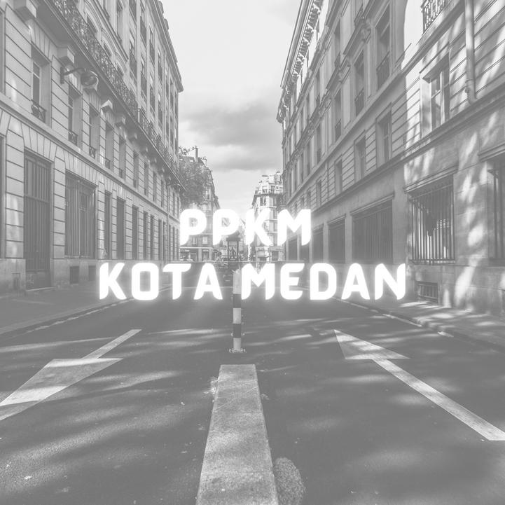 PPKM Darurat Kota Medan
