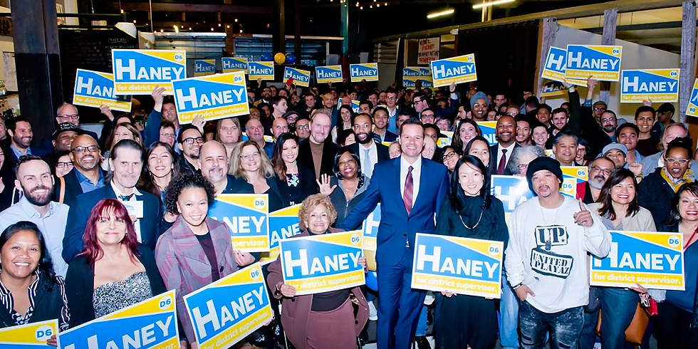 Haney for D6 HQ Opening