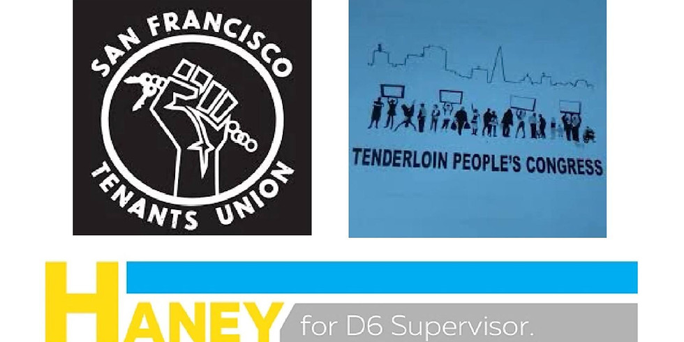 SF Tenants Union & Tenderloin People's Congress Phonebank
