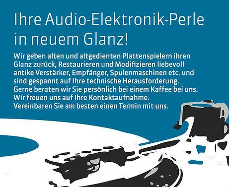 Audiogeräte reparieren