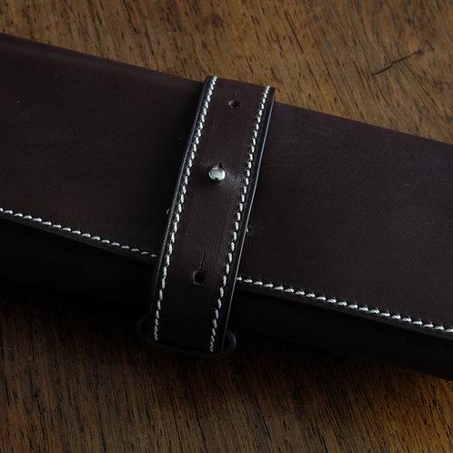 Marmotte 3 montres veau Barenia Chocolat