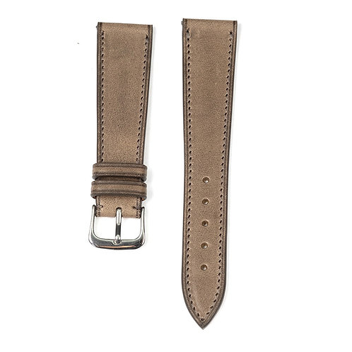 The Tuscany watch strap in Plomb