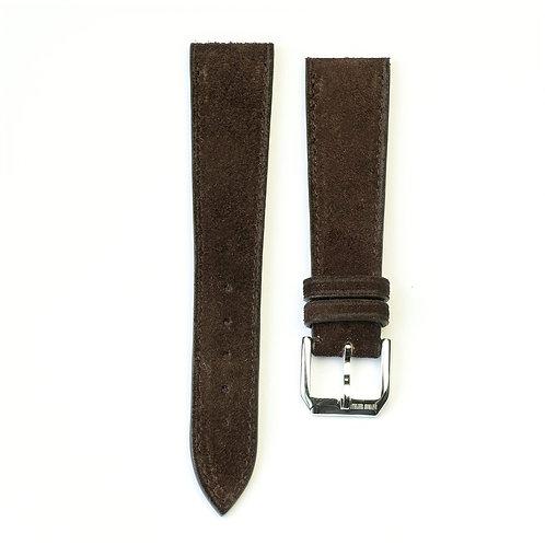 brown Suéde watch strap