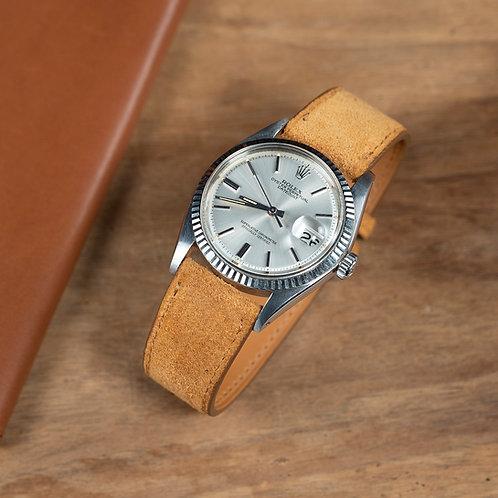 Honey Suede  watch strap
