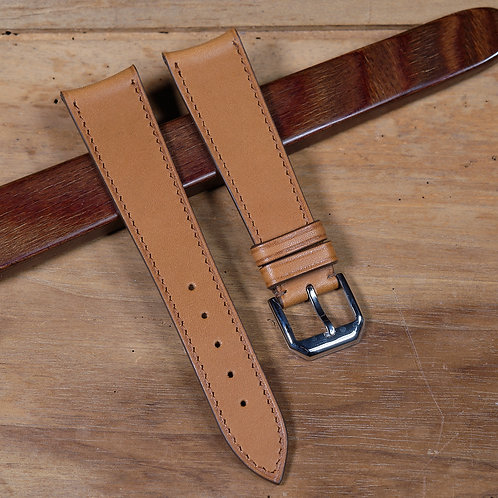 Camel double tanned leather