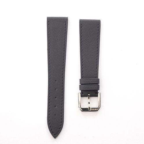 Marine blue calfskin watch strap