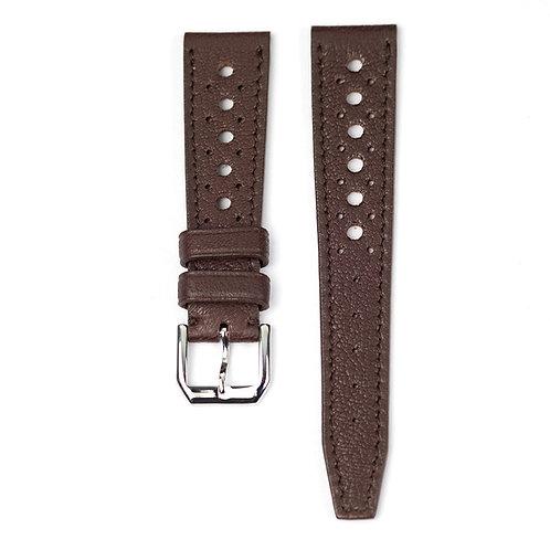 Bracelet rallye vintage marron