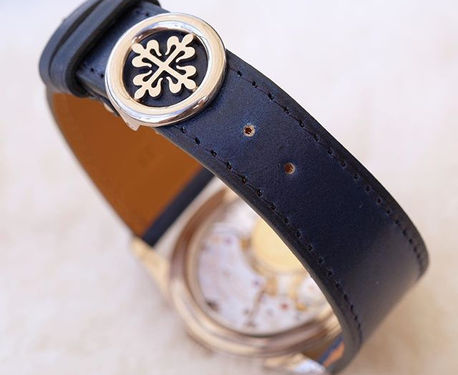 Blue shell cordovan #watchstrap _On orig