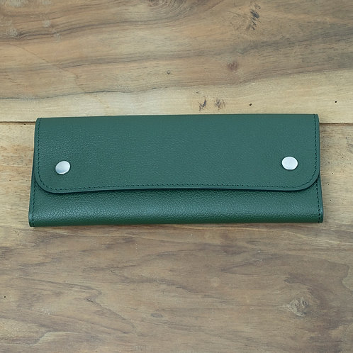 Travel watch pouch for 2 Green