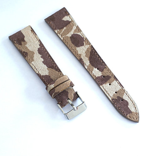 Bracelet suéde camo