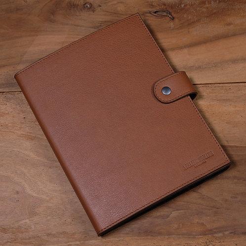 Watch strap organizer for 18 straps Brown