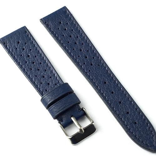 Blue racing vintage strap