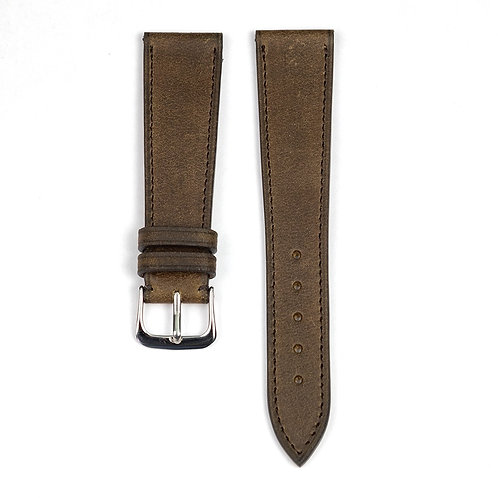The Tuscany watch strap in chocolat